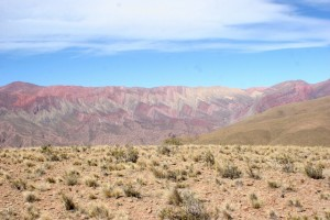 Cerro Hornocal, just outside Humahuaca
