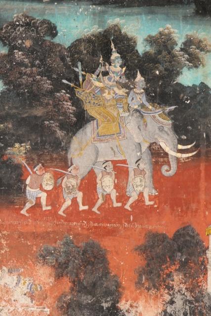 Silver Pagoda murals