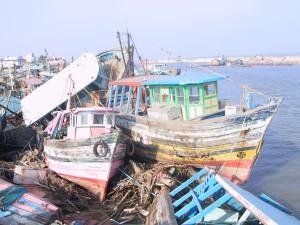 Nagapattinam harbour