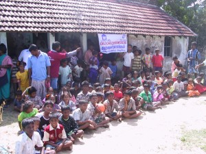 Children from Chinnavaikal Island, Cuddalore