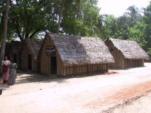 Manalamedu village, shelters