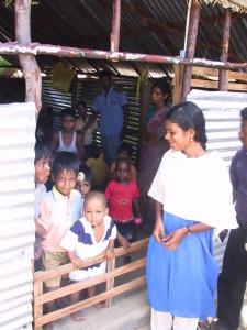 Manalamedu village, play center