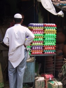 eggs in the market