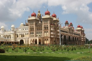 the Maharaja's Palace in Mysore (1)