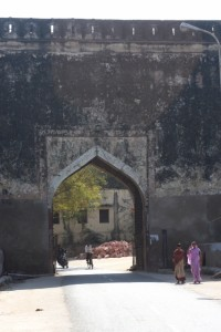 entrance gate to the Bharatpur walled city