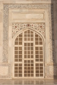 a window of the main mausoleum