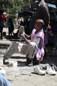 shoe washer, Addis Ababa