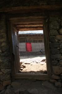 entrance to Ura Kidane Mihret church