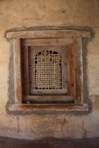 church window, Kibran Gabrael Monastery