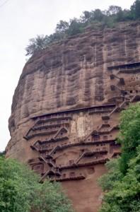 the Majishan Grottos