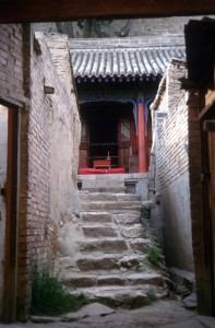 small temple hidden in a hutong
