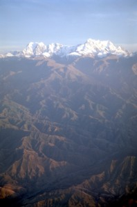 Tienshan Mountains, from the plane