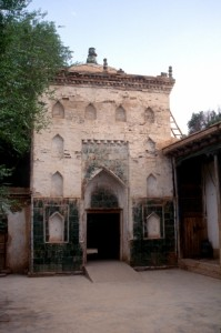the tomb of Molena Ashidin Hodja, whoever that may have been