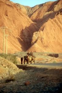 cart in the desert