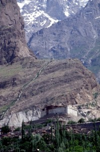 fort in the Hunza Valley