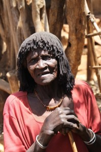 old Konso woman (Gesergiyo village)