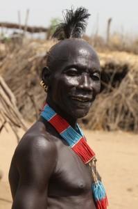 portrait of an Karo man