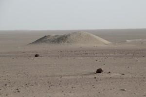 desert landscape on the way to Assaita