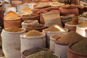 wide variety of grains in the market
