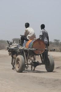 water cart in Somaliland