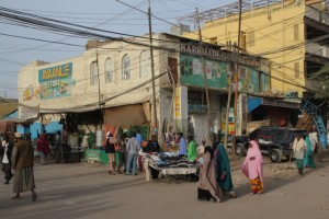 shopping centre Hargeisa-style