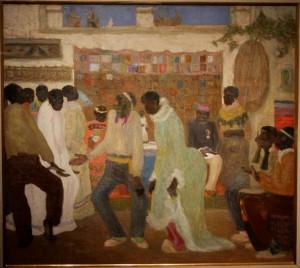 Pedro Figari (Uru) - candombe (1921), 79,5x88 cm