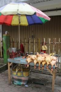 market stall in Wonosobo