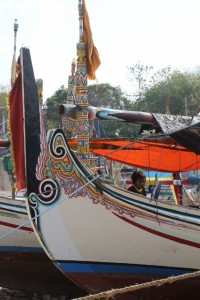 individual boats are often beautifully decorated