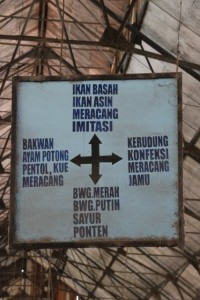 directions in the market building