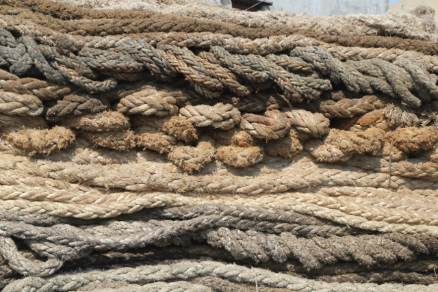 various sizes rope