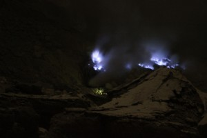 and more blue fire