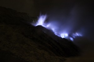and even more blue fire