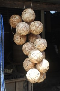 and these are bamboo footballs