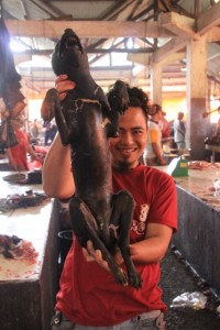 dog seller - in Minahasa culture there is nothing wrong with this
