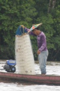 fishermen with typical hat
