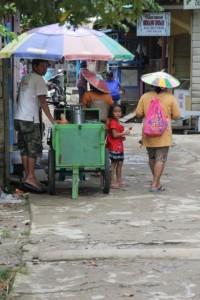 stall in Long Bagum