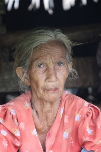 one of the village ladies