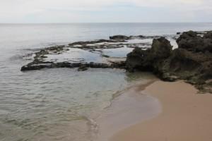 Pero beach and limestone