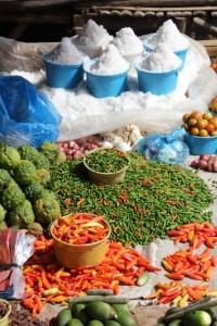 salt and pepper in the Waitabula market