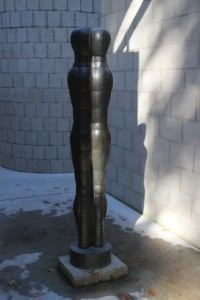 Joannis Avramidis: Grosse Figure (metal, 1958)