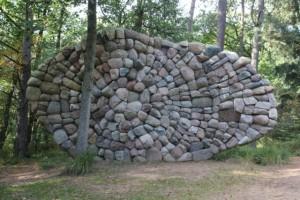 Chris Booth: De Echo van de Veluwe (stones, 2003-2005)
