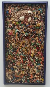 Yubi Kirindongo - collage from washed up materials (1995)