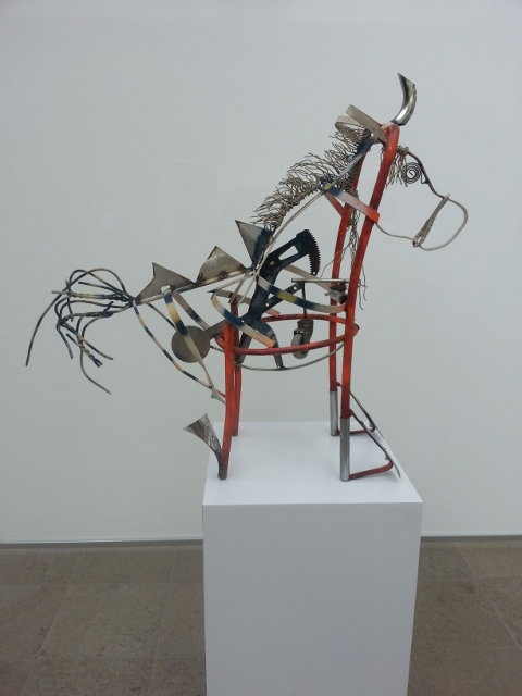 and my favourite: Yubi Kirindongo - Chair-horse: metal sculpture (1996)