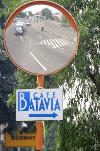Café Batavia is not far-off