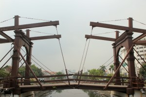 old Dutch drawing bridge