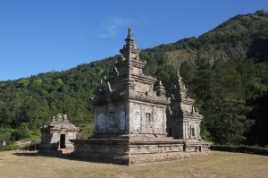 it is a nice setting, for the temples