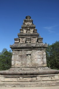 one of the Gedong Songo temples