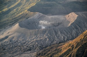 the Bromo crater
