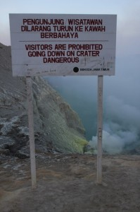 this we only saw after we returned from the crater floor…