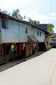 street in Mamasa